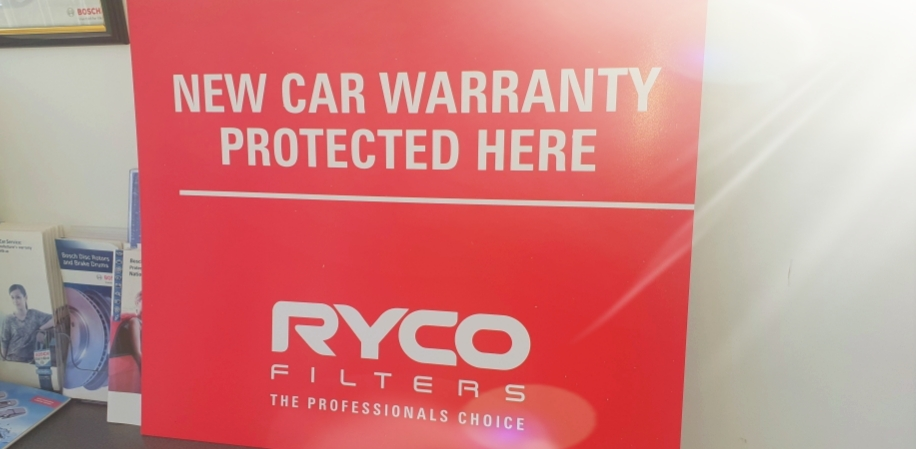 New Car Warranty Protected Here